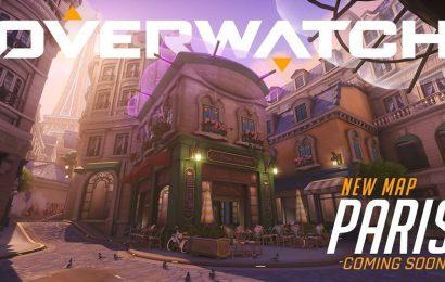 Novo mapa em Overwatch! Paris já está disponível no servidor de teste!
