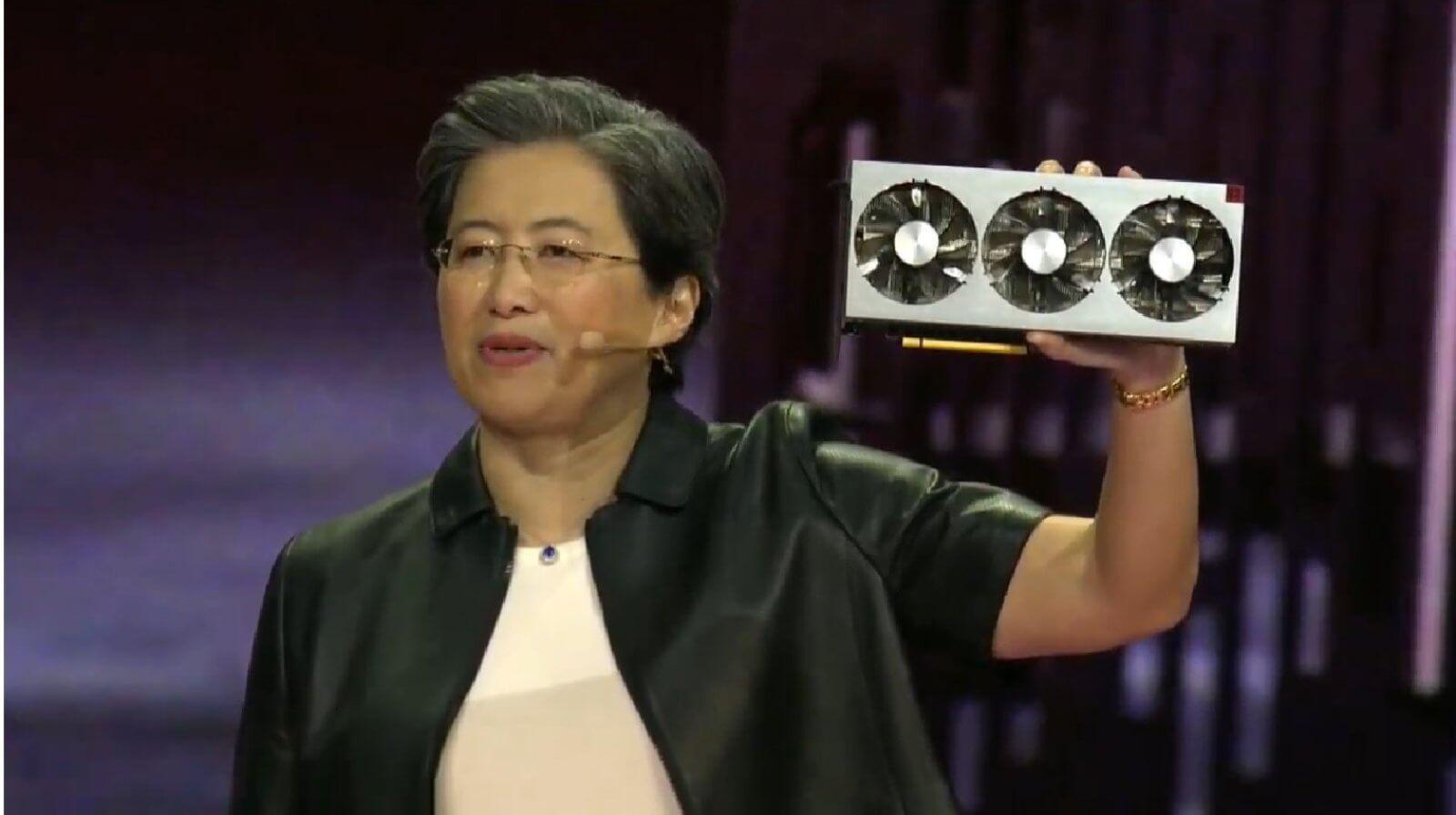 Foto de AMD Radeon VII foi revelada na CES 2019