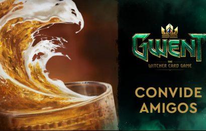 GWENT: The Witcher Card Game lança plataforma de Indique um Amigo