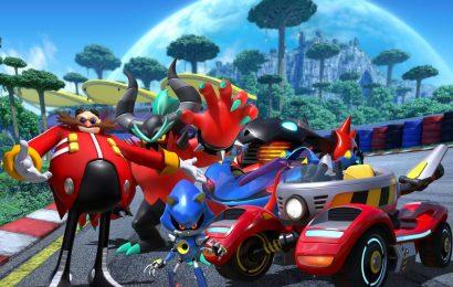 Team Sonic Racing ganhou time dos vilões