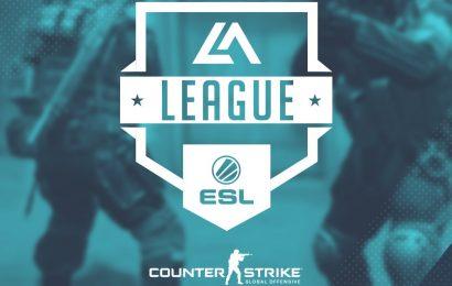 ESL LA League de CS GO começa hoje!