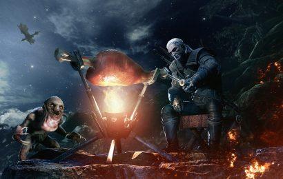 Geralt chega ao universo de Monster Hunter: World!