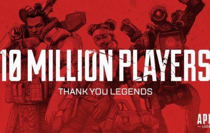 Apex Legends chega a marca de 10 milhões de jogadores em 3 dias