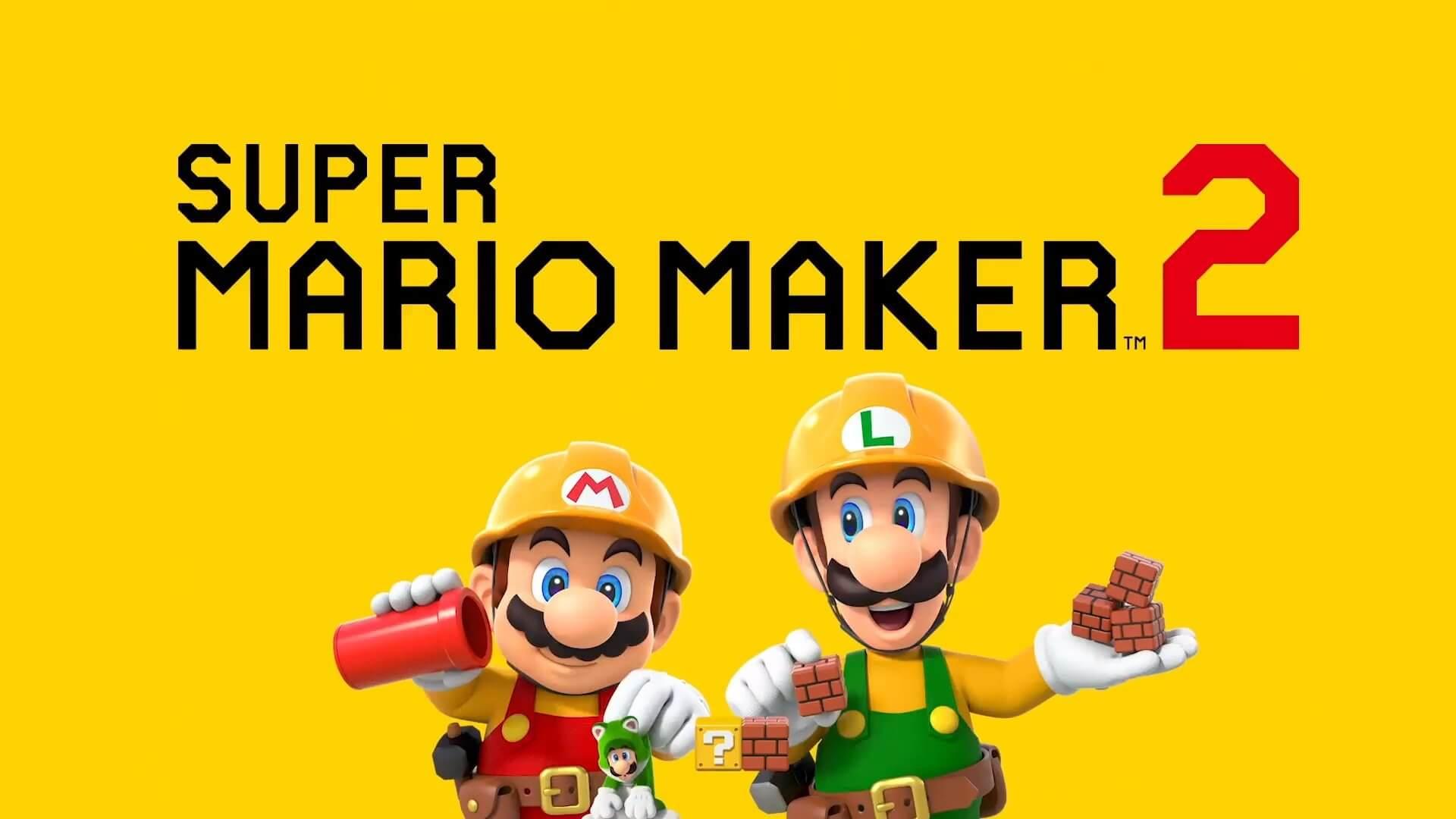 Foto de Super Mario Maker 2 anunciado para Nintendo Switch