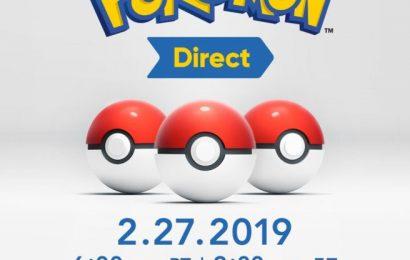 Nintendo Direct amanhã e a esperança de um novo Pokémon