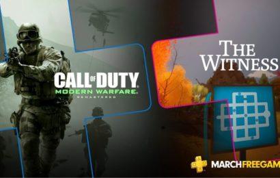 Jogos gratuitos da PS PLUS de Março foram revelados