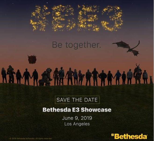 Bethesda confirmou sua conferência na E3 2019