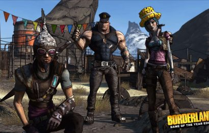 Borderlands: Game of the Year Edition foi oficialmente anunciado