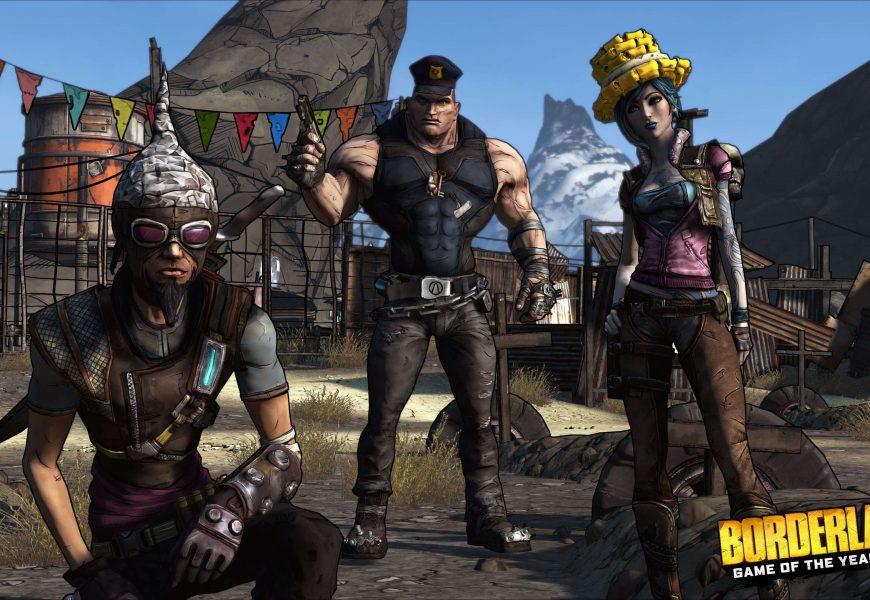 Borderlands: Game of the Year Edition foi oficialmente anunciado