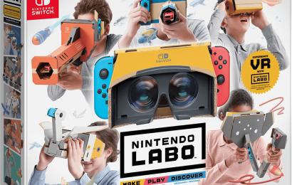 Nintendo LABO de VR ganhou seu primeiro trailer