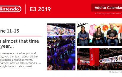 Nintendo participará na E3 2019 com campeonatos de Smash e Splatoon 2. Mais será revelado futuramente