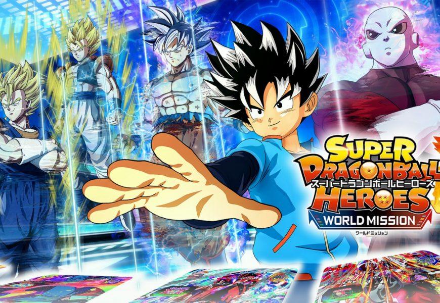 Super Dragon Ball Heroes: recebe novo trailer!