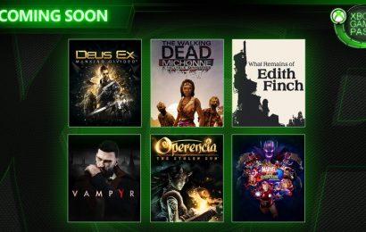 Xbox Game Pass receberá novos excelentes jogos