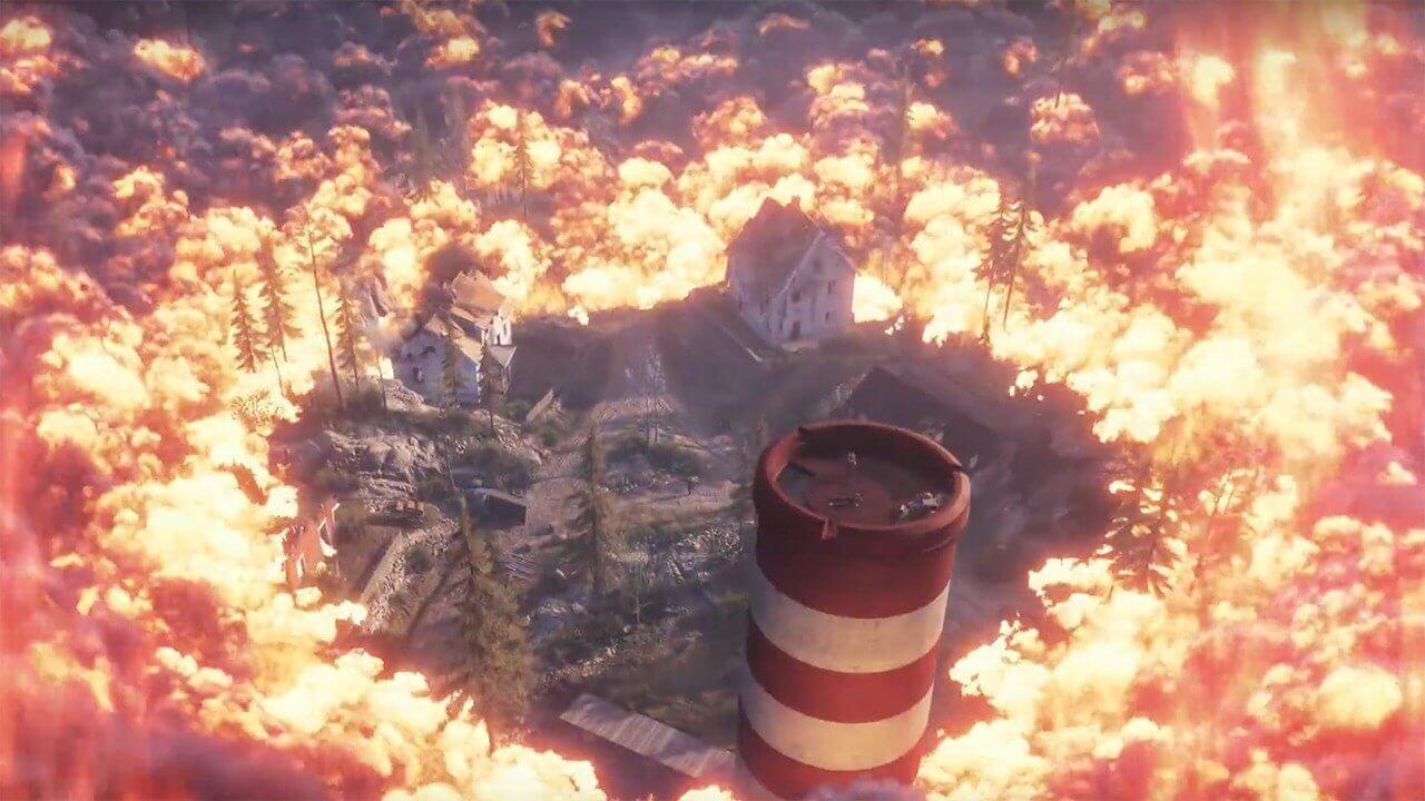 Foto de Firestorm, Battle Royale do Battlefield V, tem tutorial vazado