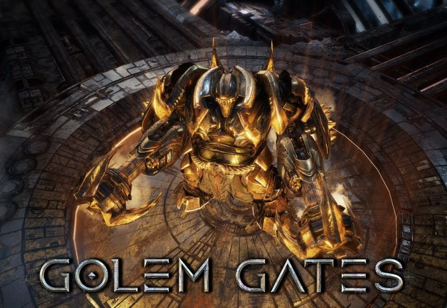 Golem Gates chegando para PS4, Xbox One e Switch!