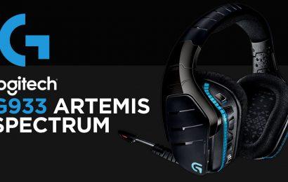Análise: Headset Logitech G933 Artemis Spectrum 7.1 RGB