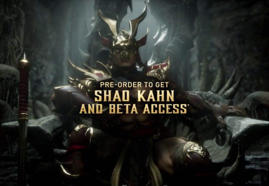 Mortal Kombat 11: Closed beta anunciado!