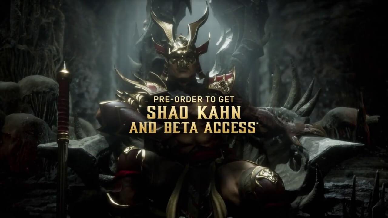 Foto de Mortal Kombat 11: Closed beta anunciado!