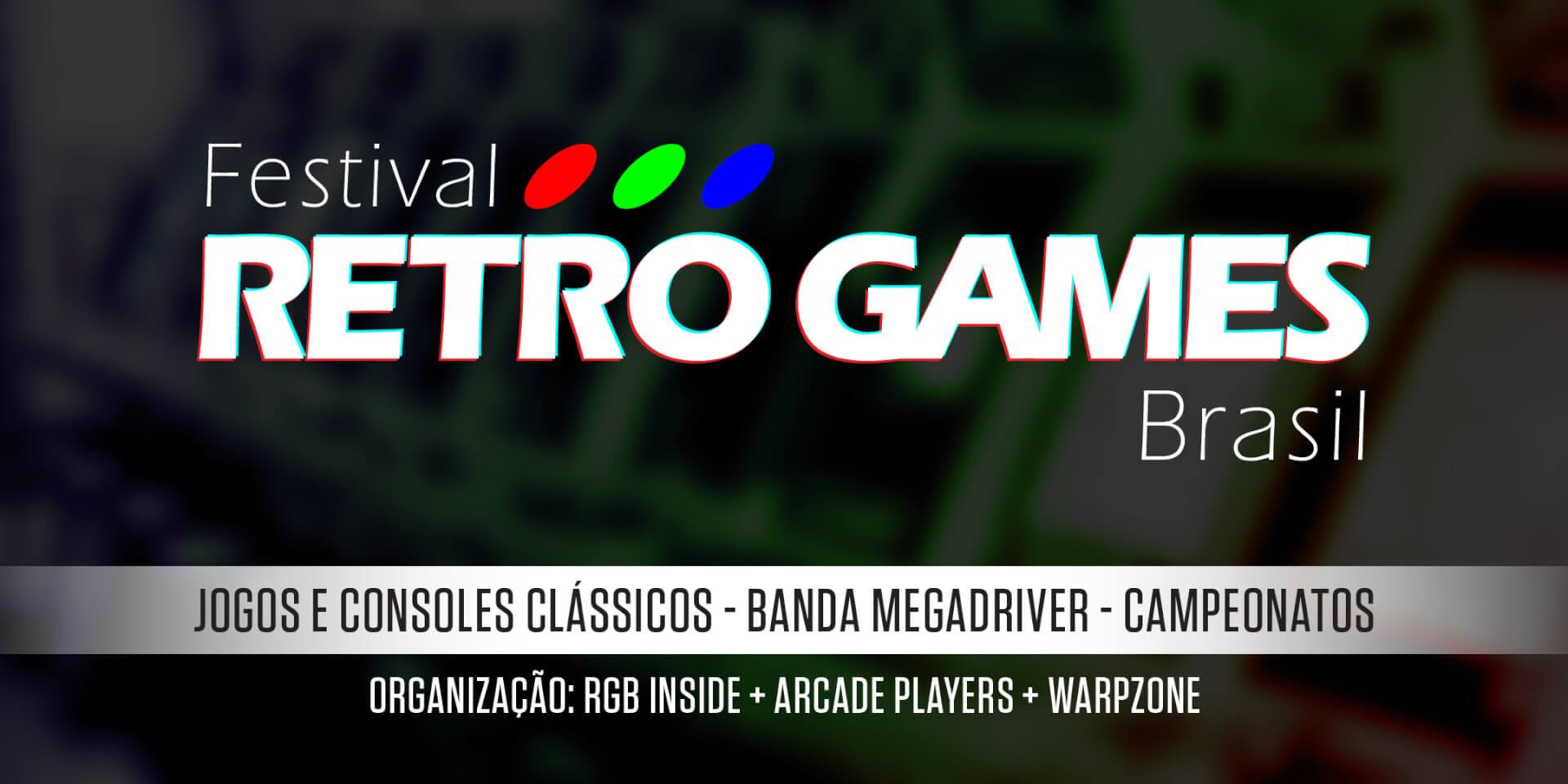 Foto de Festival Retro Games Brasil acontece em maio celebrando com grandes atrações o mundo dos retro games e arcades
