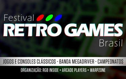 Festival Retro Games Brasil anuncia novas atrações marcantes para o evento neste sábado (25) em São Paulo