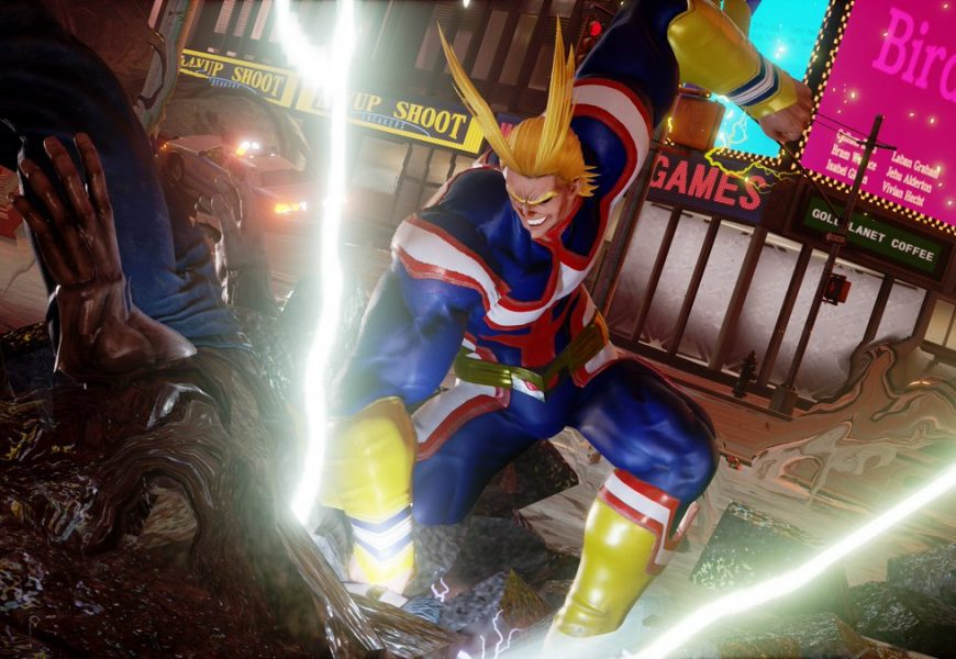 Plus Ultra! All Might chega ao Jump Force em maio