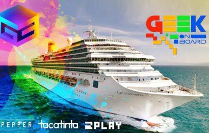 Geek on Board, o primeiro cruzeiro Geek do mundo é do Brasil! Ubisoft já confirmou presença