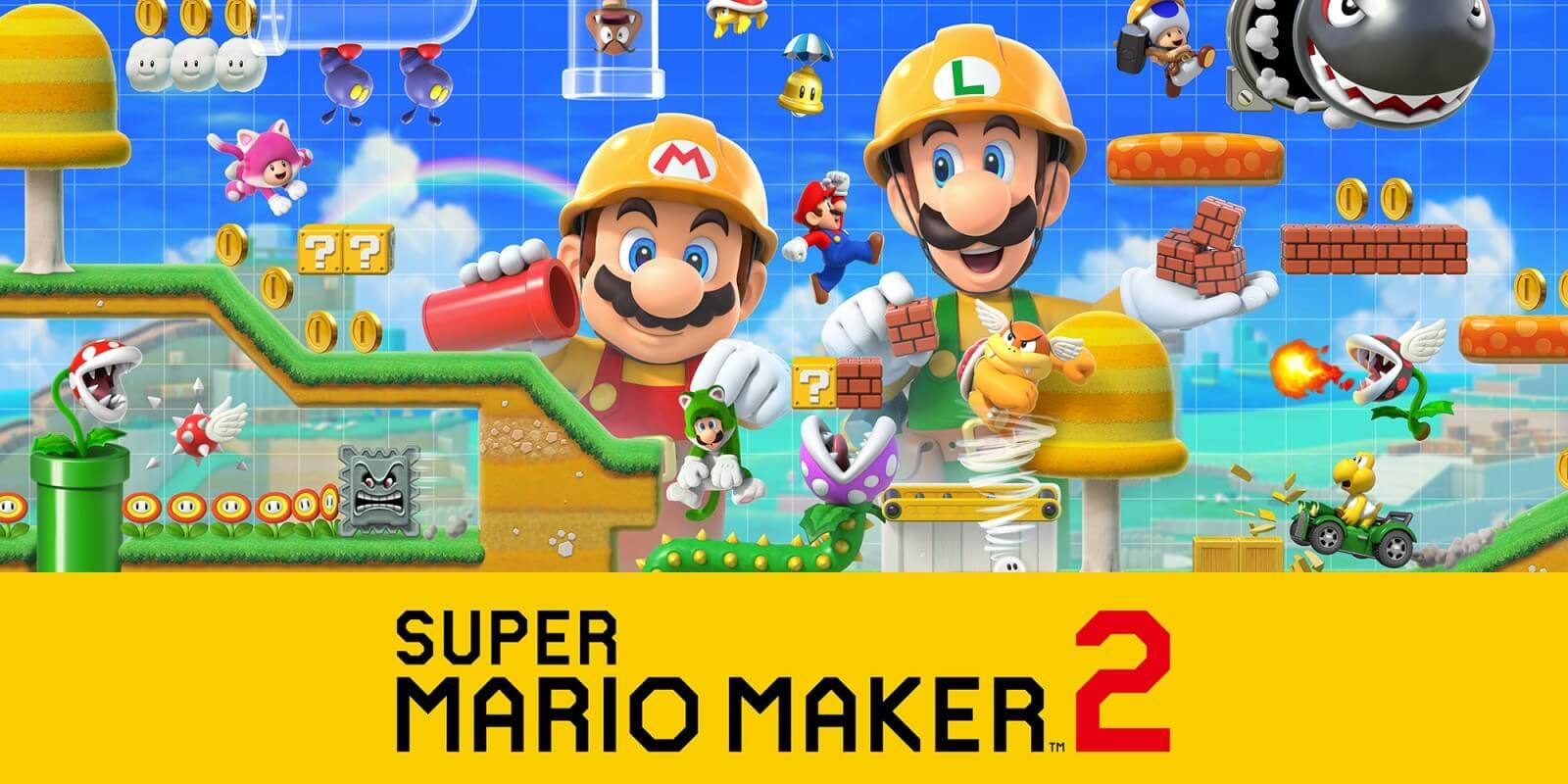 Foto de Super Mario Maker 2 teve muitas novidades confirmadas, incluindo modo história e multiplayer