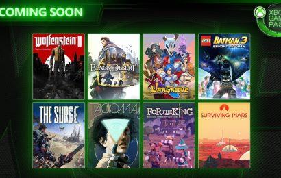 Wolfenstein 2, Black Desert e outros jogos chegarão ao Game Pass no mês de Maio