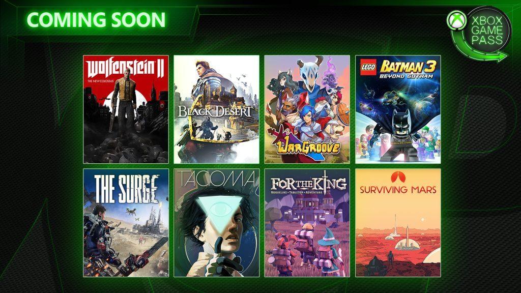 Foto de Wolfenstein 2, Black Desert e outros jogos chegarão ao Game Pass no mês de Maio
