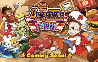 BurguerTime Party foi anunciado para o switch