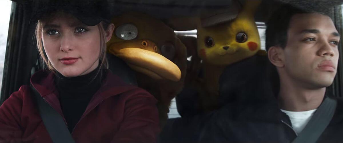 """Foto de """"Teste de elenco"""" no novo trailer de Detetive Pikachu"""