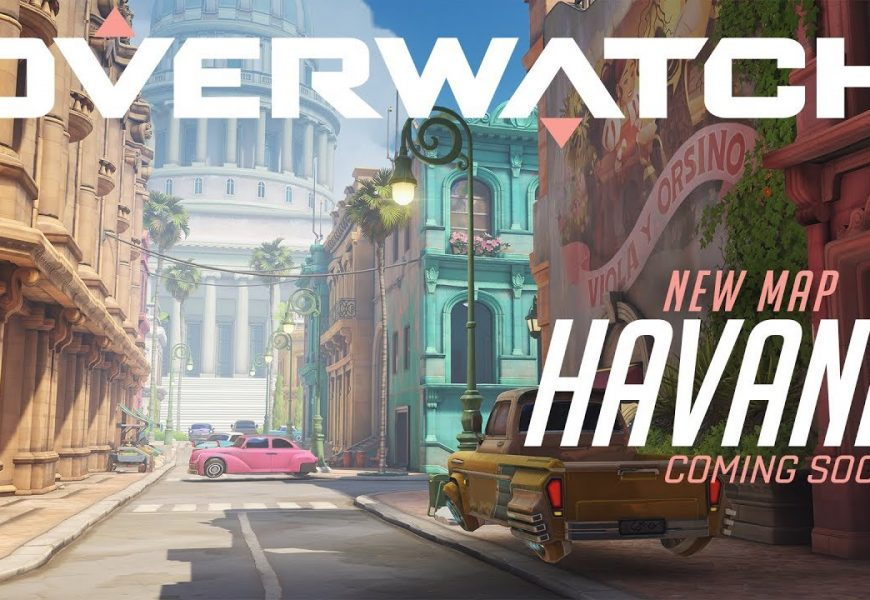 Novo mapa em Overwatch! Havana já está disponível para testes