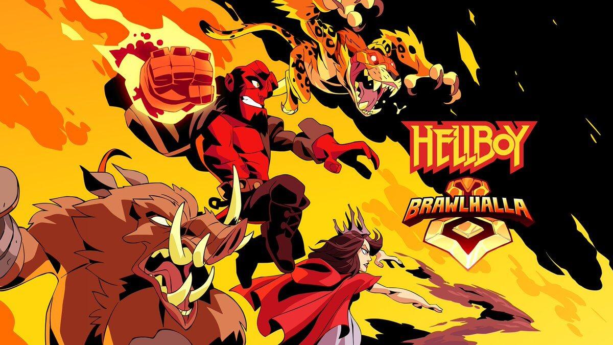 Foto de Hellboy e outros personagens chegarão amanhã em Brawlhalla. Confira novo trailer