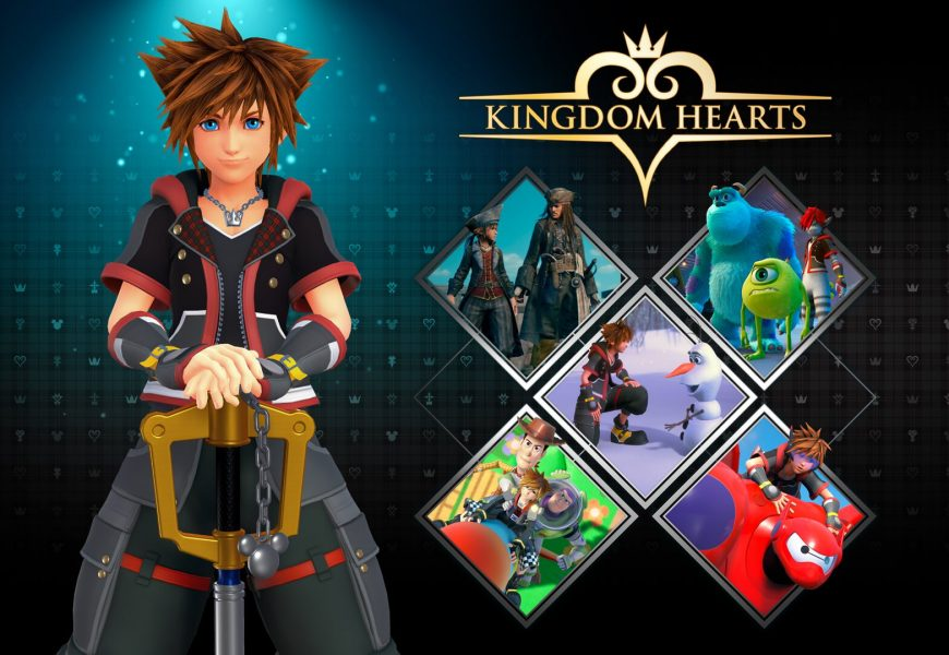 Critical Mode de Kingdom Hearts III lança hoje