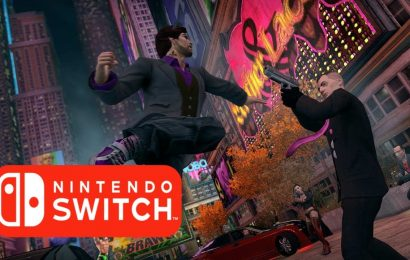 Saints Row: The Third chegando para o Switch!