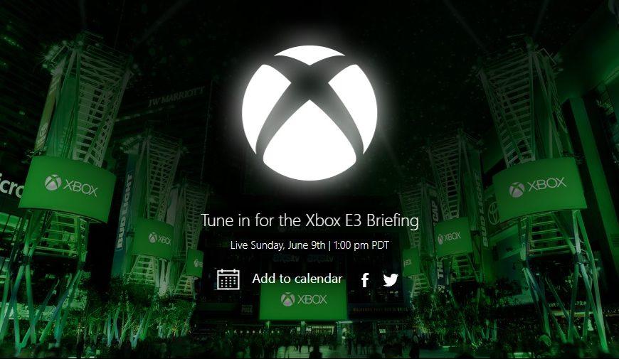 Microsoft confirma sua conferência da E3 para dia 9 de Junho