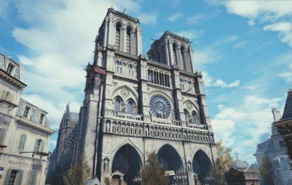Assassin's Creed Unity pode ajudar a restaurar a Catedral de Notre Dame