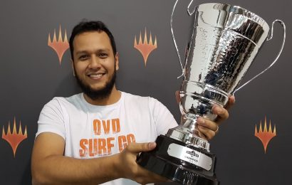 Jogador do Amapá vence campeonato principal do Magic Fest São Paulo e se classifica para o Mythic Championship IV