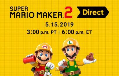 Direct focada em Mario Maker 2 acontecerá nesta quarta