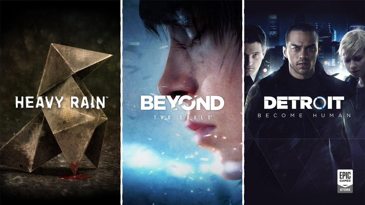 Foto de Heavy Rain, Beyond: Two Souls e Detroit: Become Human para PC recebe data de lançamento demo e mais