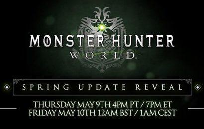 Monster Hunter World: Novidades a caminho, daqui 2 dias!