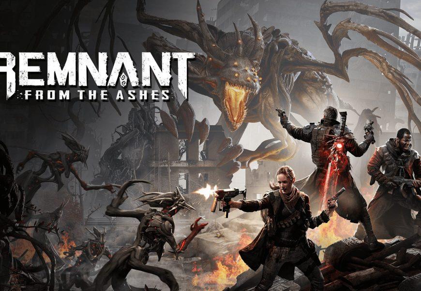 Remnant from the ashes: trailer de área nova!