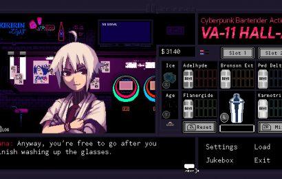 Análise: VA-11 Hall-A: Cyberpunk Bartender Action tem uma história incrível, mas um gameplay muito simplista