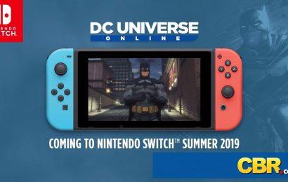 DC Universe Online chegará ao Switch em breve