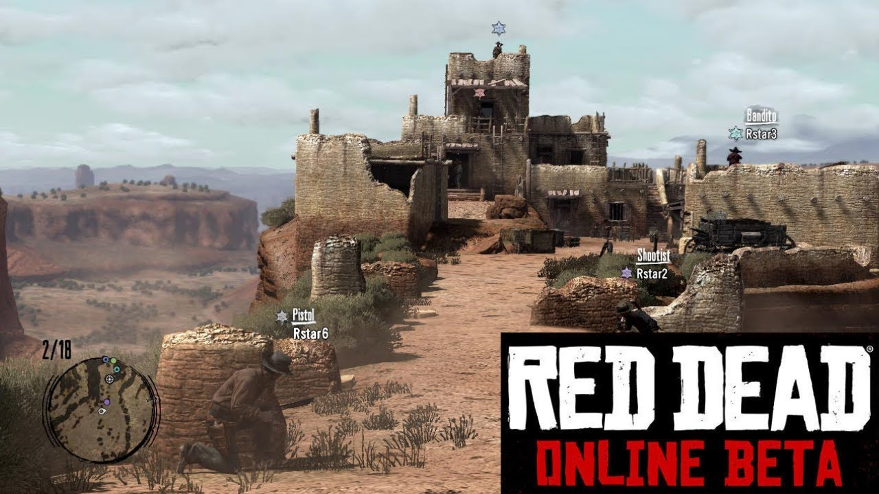 Foto de Red Dead sairá da fase beta em Junho