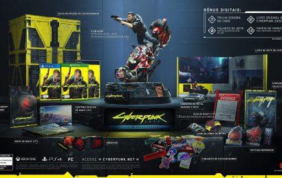 E3: Veja a edição de colecionador de Cyberpunk 2077