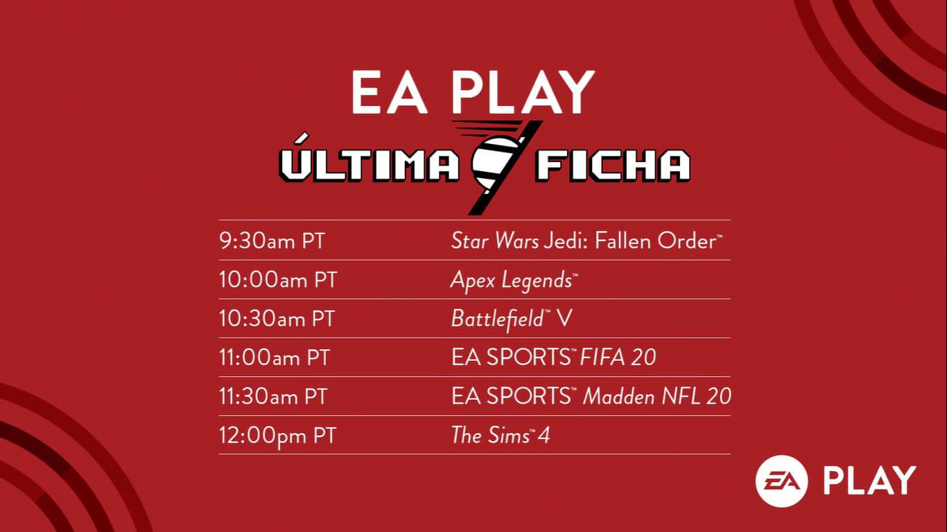 Foto de EA Play: Compiladão do ÚltimaFicha