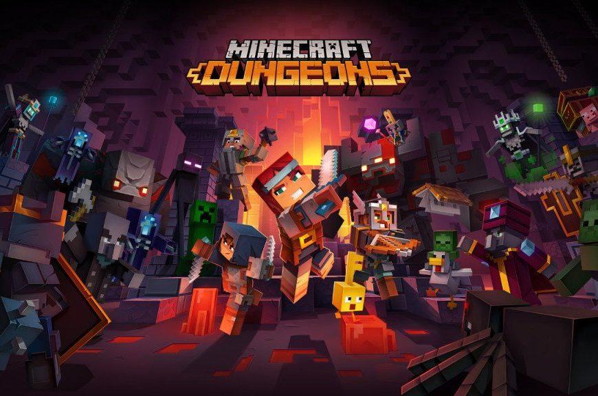 E3 Nintendo:  Minecraft Dungeons chega ao Switch em 2020