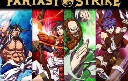 Agora vai! Fantasy Strike sairá mês que vem!