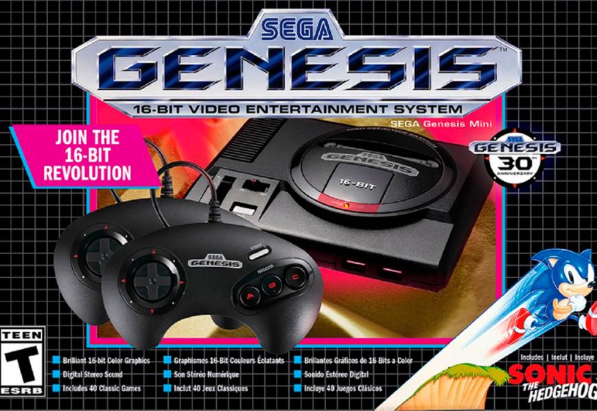 [Hands-on] Sega Genesys Mini (Mega Drive) é disparado o melhor clássico mini até agora